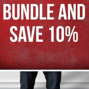 BUNDLE TODAY AND SAVE 10% 😍😍😍